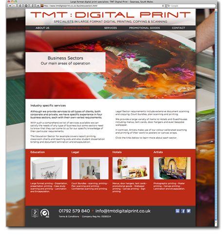 cms website design